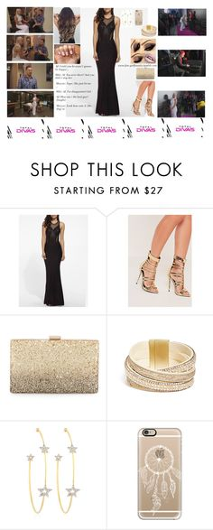 """OC AJ WWE Diva ~ Dog Red carpets"" by fan-girlfanatix ❤ liked on Polyvore featuring WithChic, Missguided, Neiman Marcus, GUESS, PERLOTA and Casetify"