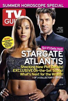 Stargate Atlantis TV Guide 3 Collective Covers