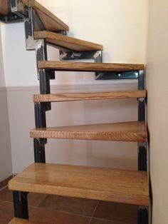 Wood metal stairs - Palmarini