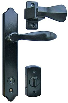 Shop Ideal Security Inc. Deluxe Storm Door Handle Set with Deadbolt at Lowe's Canada. Find our selection of storm & screen door hardware at the lowest price guaranteed with price match.
