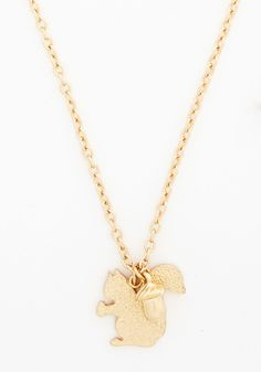 A Squirrel Like Me Necklace | Mod Retro Vintage Necklaces | ModCloth.com