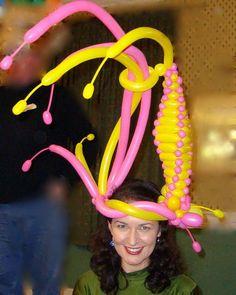Balloon Hat Fun