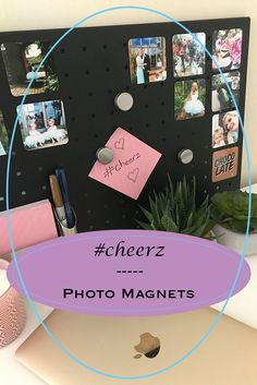 Photo magnets are a great and imaginative way to display your photos to all of the family. These ones by Cheerz are absolutely perfect!