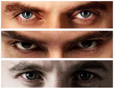 The eyes are windows of the souls... Richard Armitage, Aidan Turner and Dean O'Gorman