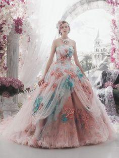 Ideas Fashion Photography Pastel Wedding Dresses For 2019 Pastel Wedding Dresses, Wedding Gowns, Colorful Prom Dresses, Pastel Dresses, Pastel Outfit, Bridal Gown, Bridal Dresses, Ball Dresses, Formal Dresses