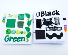 My First Book of Colors quiet book (felt book/busy book) Rick Rack, Good News, Busy Book, Quiet Books, Different Shapes, Basic Colors, Etsy, Kids Learning, Baby Love