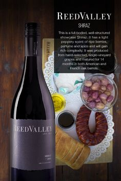 ReedValley Wine in South Africa offers reds that are dark and spicy, yet elegant, and fresh and fruity whites, perfect for everyday enjoyment. French Oak, Barrel, Wine, Food, Wine Pairings, Barrel Roll, Essen, Barrels, Meals