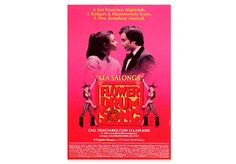 """FLOWER DRUM SONG BROADWAY POSTER - Heavy showcard stock. 14"""" x 22"""""""