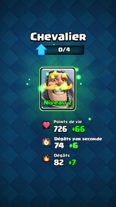 screenshot Clash Royale android game - lvl up
