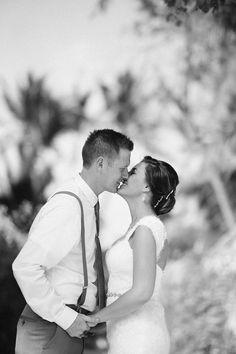 Heather and Weston. Punta Cana Destination Wedding at Huracan Cafe!
