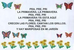 canciones infantiles la primavera