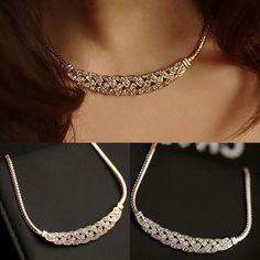 Used Sterling Silver Jewelry Info: 3661705190 Jewelry Design Earrings, Gold Jewellery Design, Necklace Designs, Gold Jewelry, Indian Jewelry Sets, Fashion Jewelry, Fashion Women, Neck Chain, Diamond Brooch