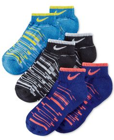 Nike Boys' or Little Boys' Ankle Socks - Socks - Men - Macy's Nike Kids Clothes, Pineapple Socks, Nike Stuff, Sports Socks, Women Socks, Cute Socks, Kids Socks, Athletic Outfits, Ankle Socks