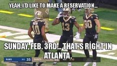 🙌🏻 Nfl Football Teams, Best Football Team, Football Memes, Sports Memes, Alabama Football, Lsu, American Football, Nfl Saints, New Orleans Saints Football