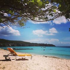 Another perfect day for the beach in Curacao.
