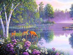 erdei tó