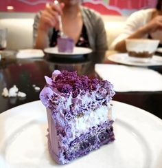The Ube (purple yam) cake at @ucccafeph was the bomb!!! I know this flavour sounds weird but this cake had the perfect amount of natural sweetness for people like me who can't take super sweet desserts