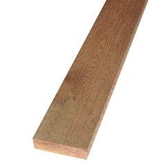 null 2 in. x 6 in. x 8 ft. Rough Green Western Red Cedar Lumber