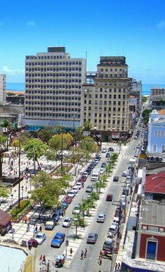Praça do Ferreira / Centro de Fortaleza - CE - Brasil