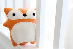 Red Fox Plush Toy - Evelyn - adorable cute soft fleece orange stuffed animal softie