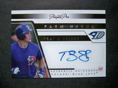 2006 Tristar Prospects Plus Farm Hands Autograph #45 Travis Snider Blue Jays NM/MT