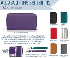 #2017Thirty-One#Thirty-OneFall&WinterCollection#wallets#bobbi'sbeautifulbags&baubles#allaboutthebenjamins