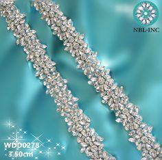 (1 YARD )Handmade bridal beaded sewing crystal glass silver rhinestone applique trim iron on for wedding dress WDD0278s-in Rhinestones from Home & Garden on Aliexpress.com | Alibaba Group