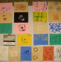printmaking - string and cardboard