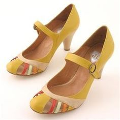 apparently i'm loving yellow shoes today...