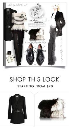 """#283"" by monazor ❤ liked on Polyvore featuring moda, Yves Saint Laurent, Oscar de la Renta, River Island y Jeffrey Campbell"