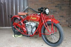 Parker Indian Motocycles - 1925 Scout