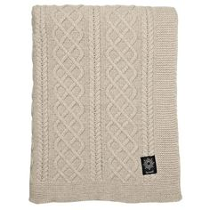 By Nord Knitted Throw | Houseology (160 AUD) ❤ liked on Polyvore