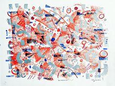Original signed art Summer Drawing 217  9 x 12 by allthingsbarbara