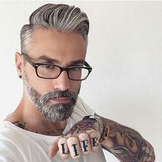 "wolfsong: """"@silver.fox.x #ohmybeardedman #beards #beardslover #Sexybeardedman…"