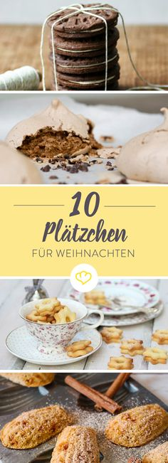 The 10 tastiest dishes … - DIY Christmas Cookies Delicious Cookie Recipes, Sweets Recipes, Yummy Cookies, No Bake Desserts, Cake Cookies, Delicious Food, Winter Desserts, Christmas Desserts, German Christmas Cookies
