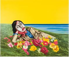 Zeng Fanzhi, Untitled (reclining figure) @artsy