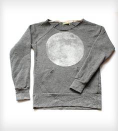 Full Moon Scoopneck Sweatshirt - Heather | Women's Clothing | CAIRO | Scoutmob Shoppe | Product Detail