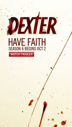 """DEXTER"" (Season 6 - SHO) Finished Season 6 last night.  On to Season 7!"