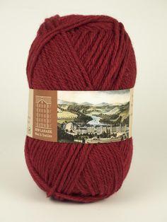 Cherry Aran Wool - New Lanark Wool and Textiles