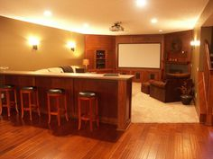 Close to our dream basement