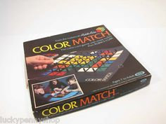 Rubik's Cube Color Match Game http://www.luckypennyshop.com/toys.htm