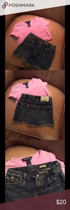 Girls Ralph Lauren Outfit | Size 6 Excellent condition. Tee and skirt included. Ralph Lauren Shirts & Tops Tees - Short Sleeve