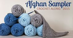 Crochet along to make a contemporary afghan sampler during 2015 -- have a finished blanket in time for Christmas giving.