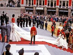 Princess Diana's Wedding.