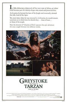 greystoke: the legend of tarzan, lord of the apes, 1984. a hugh hudson film.
