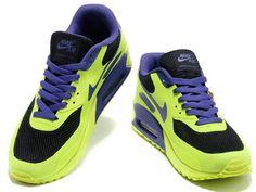 Nike Air Max 90 Grau Lila