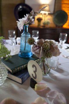 hardback books + assorted vases
