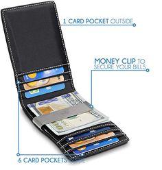 bbf98ba358 TRAVANDO Money Clip Wallet