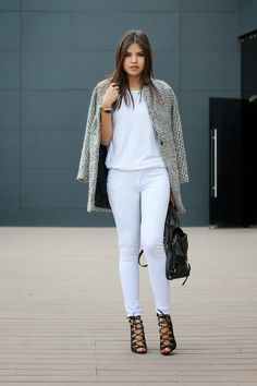 Street Style Fairy Tales: COLORS : White