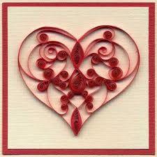 90 Best Valentine S Quilling Images On Pinterest Arte De Papel